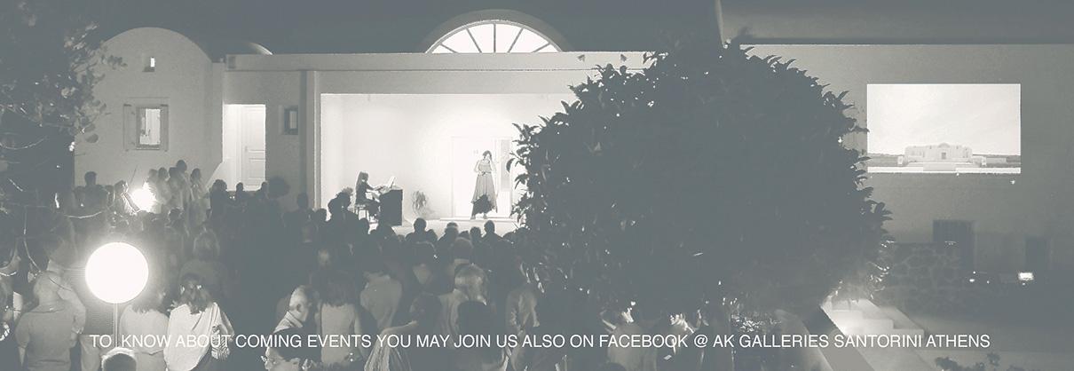 AK Galleries Santorini Events